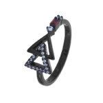 Кольцо Black Star